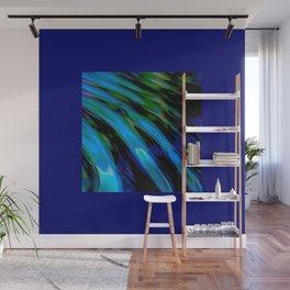 Liquid Blue Wall Mural