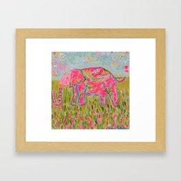 Jelly Bean The Elephant Framed Art Print