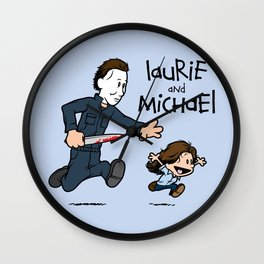 Laurie and Michael Wall Clock