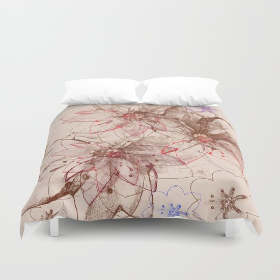 Whirlwind of petals(6). Duvet Cover