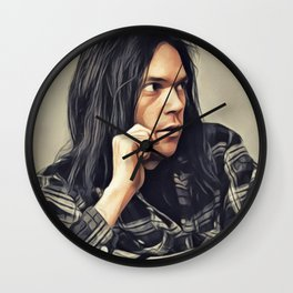 Neil Young, Music Legend Wall Clock