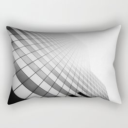 Grid Towards the Sky. Rectangular Pillow