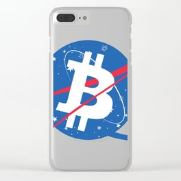Bitcoin Clear iPhone Case