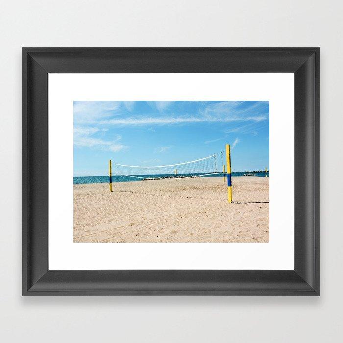 AFE Kew-Balmy Beach Framed Art Print