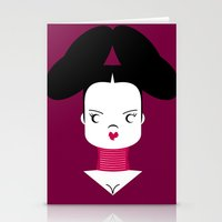 bjork Stationery Cards featuring Bjork by Marco Recuero
