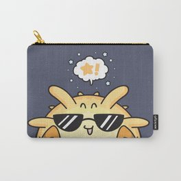 Sunny Blowfish Carry-All Pouch