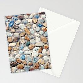 Pebble Rock Flooring V Stationery Cards