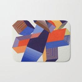 Geometric Painting by A. Mack Bath Mat