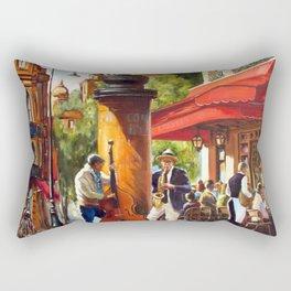 Street musicians Rectangular Pillow