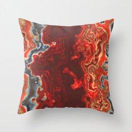 Onyx stone Throw Pillow