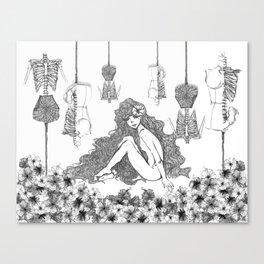 Secreto a Voces Internas Canvas Print