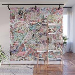 Sacramento map Wall Mural