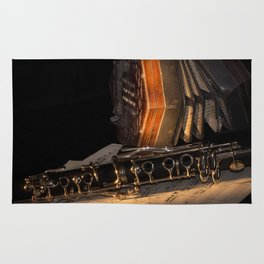 The Clarinet and the Concertina Rug