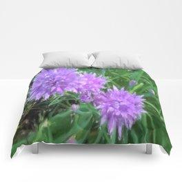 Violet Flower Comforters