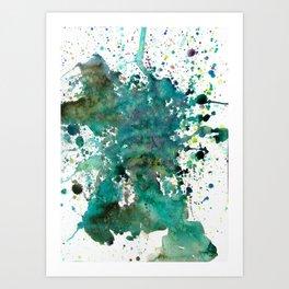 Earth Tone 3 Art Print