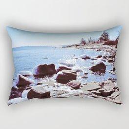 Lake Superior Spring Rectangular Pillow