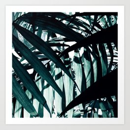 Inside of Palm Trees Art Print