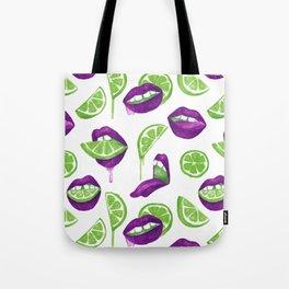 Don't Kill My Vibe (Lime) Tote Bag