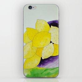 Lemon Bowl iPhone Skin