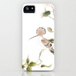 Japan Spring Flowers and Birds iPhone Case