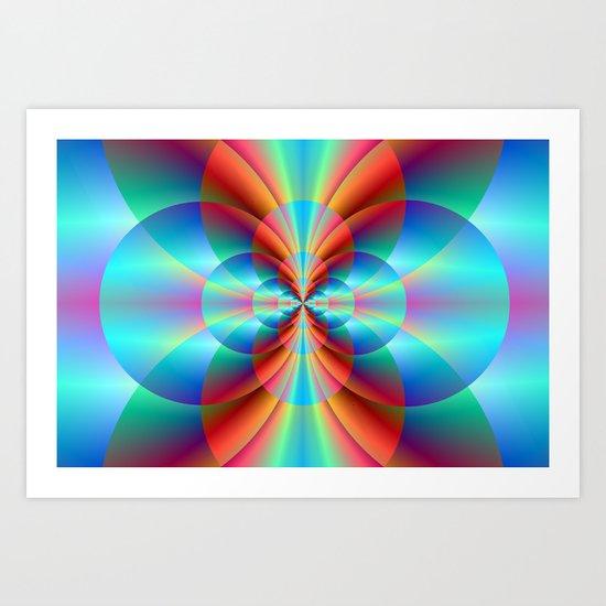 Circle Point Art Print