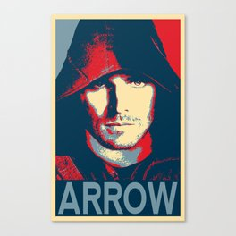 Arrow Oliver Queen Superhero Comic Pop Art Movie Television Poster Film Print Canvas Print