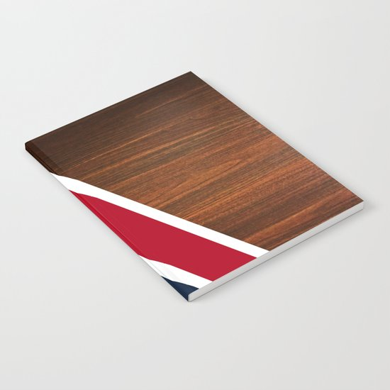 Wooden New England Notebook