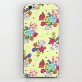 Flowers [yellow] iPhone Skin