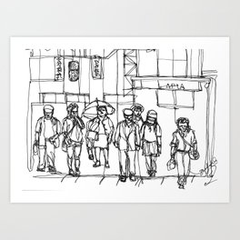 The Crosswalk Art Print