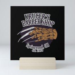 Kruger's Barbershop Mini Art Print