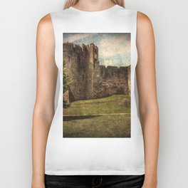 Chepstow Castle Towers Biker Tank