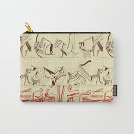 Bag Design Illustration Carry-All Pouch