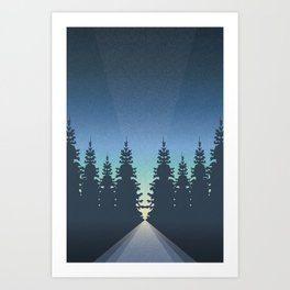 Guide Me Home Art Print