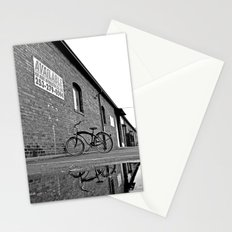Former railroad depot Stationery Cards