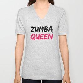 Zumba Queen Unisex V-Neck