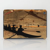 rowing iPad Cases featuring Rowing by Robin Curtiss