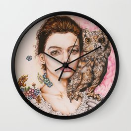 The most comfortable moment  By Davy Wong Wall Clock