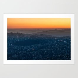 Landscape Photography by Sayan Nath Art Print