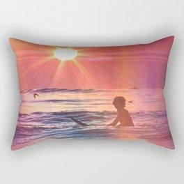Vivid Summer Rectangular Pillow