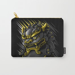 Chinese Dragon Gold Carry-All Pouch