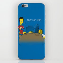 That's My Spot iPhone Skin