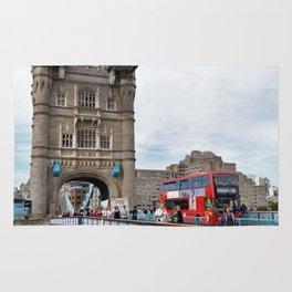 Busy Tower Bridge Rug