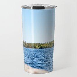 Lake in Finland Travel Mug