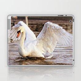 Elegant Swan Laptop & iPad Skin