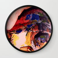 turtle Wall Clocks featuring Turtle by Art By Carob