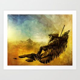 Forward Observer Art Print