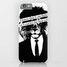 Let the lion win iPhone 6s Slim Case