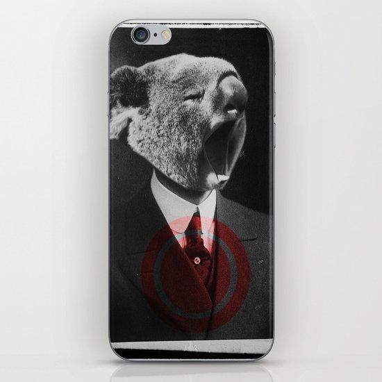 Koala Yawn iPhone & iPod Skin