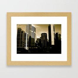 Sydney View Framed Art Print