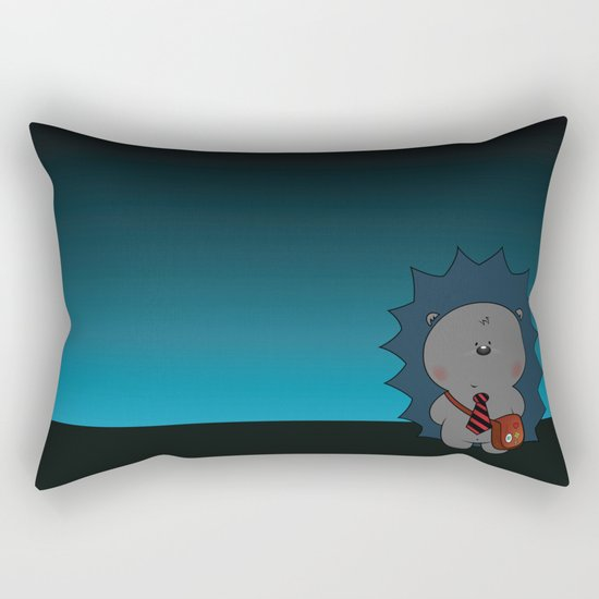 Nigel The Hedgehog Rectangular Pillow